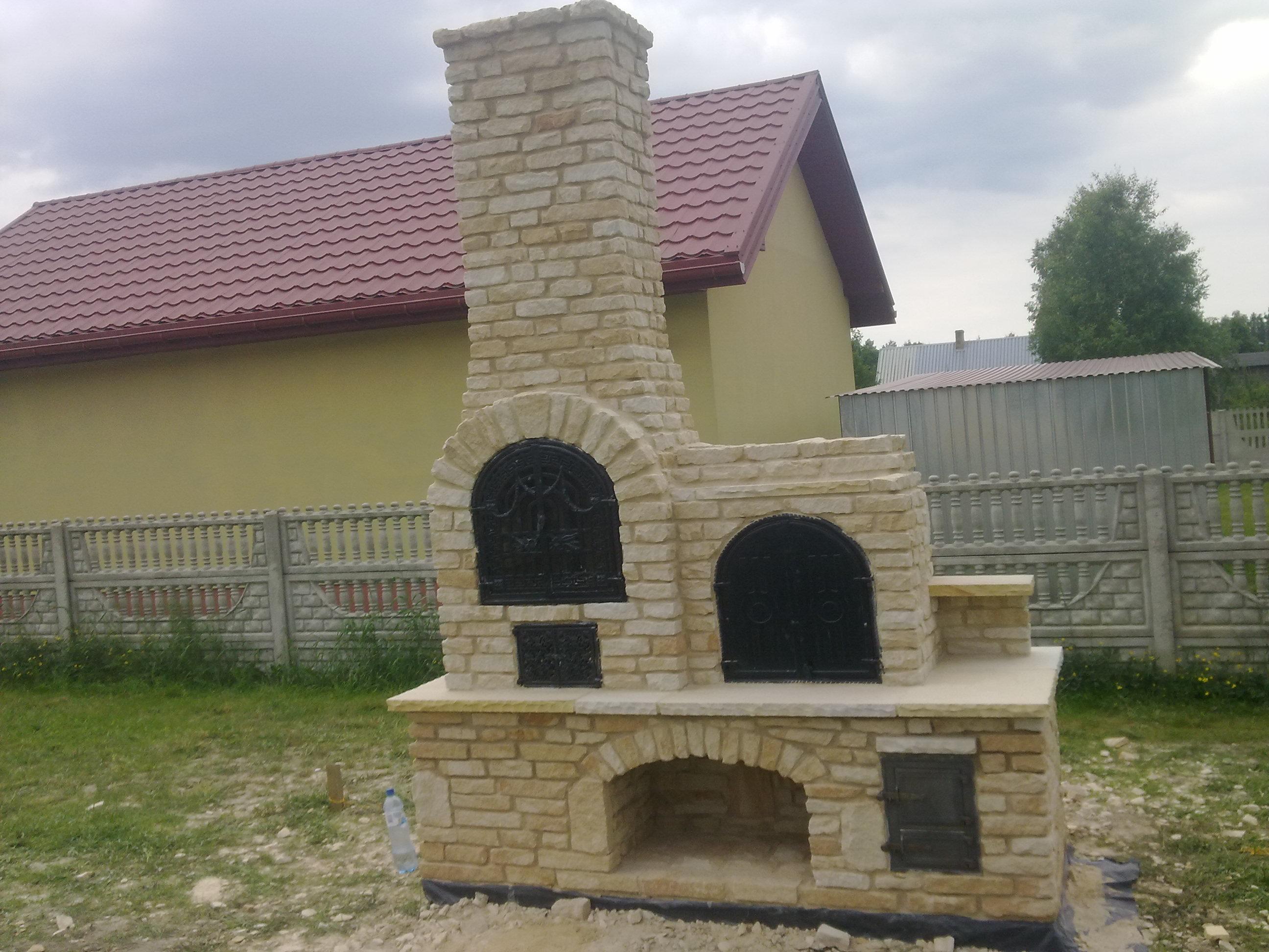 grill z kamienia