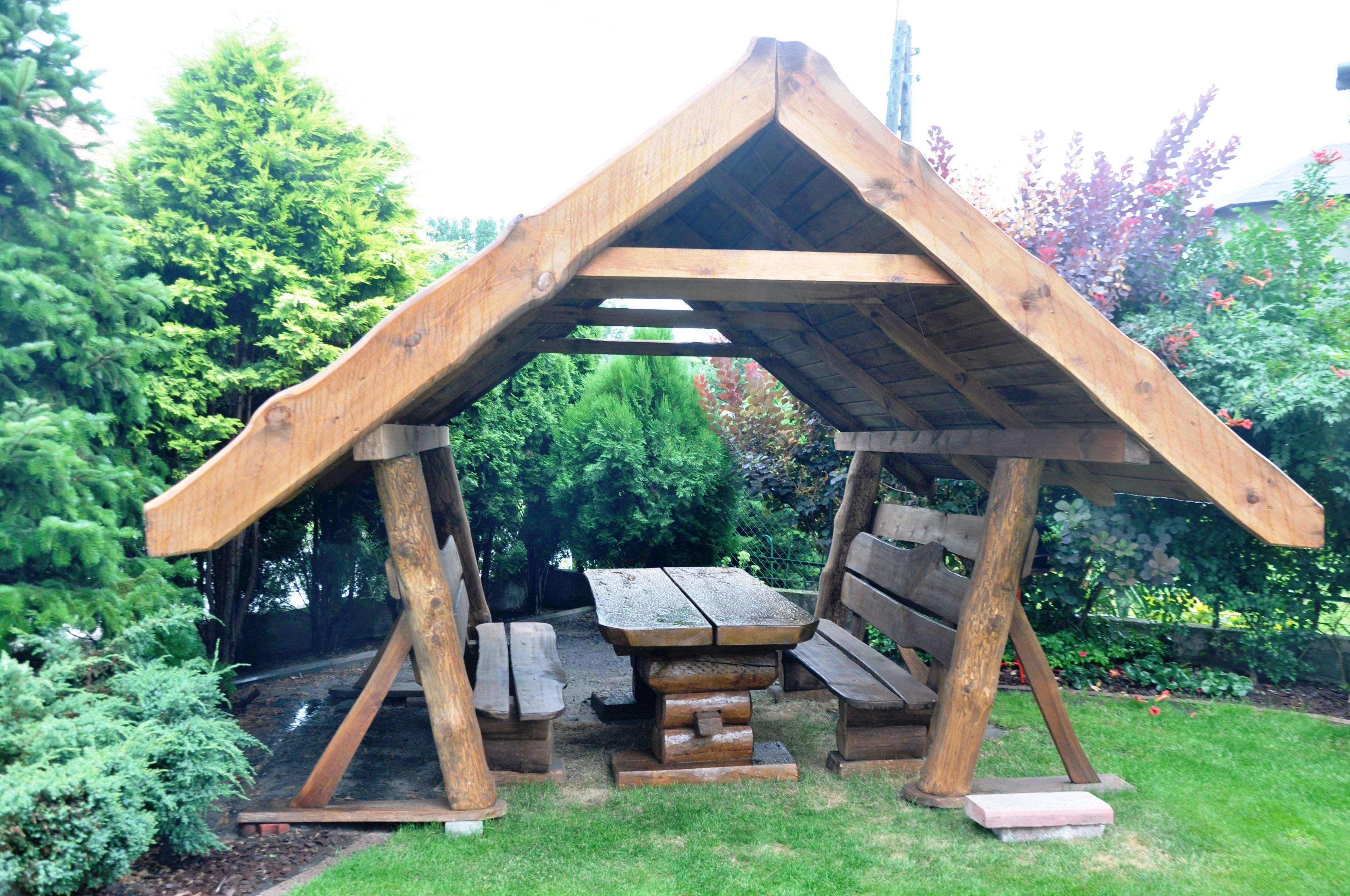 altana drewniana - skrzat