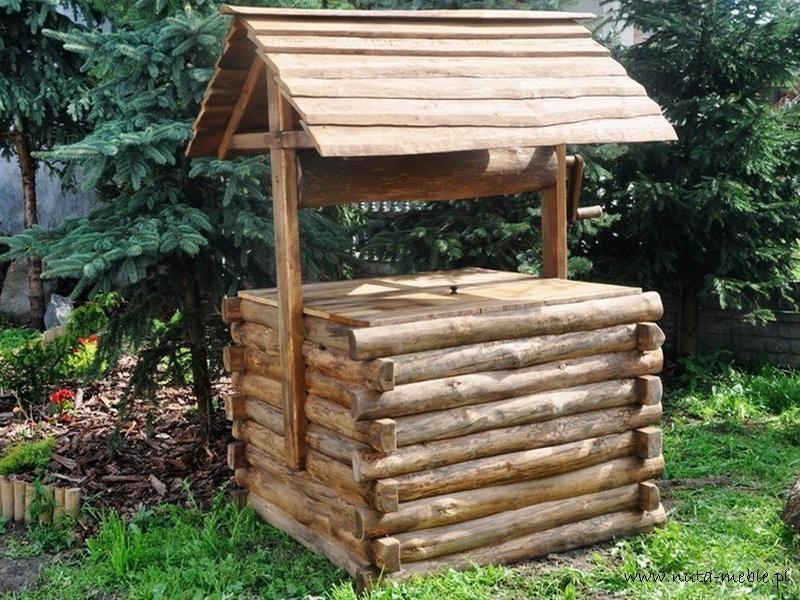 studnia drewniana